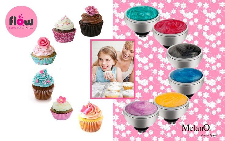 Deze Melano Twisted zettingen komen eigenlijk uit de Twisted Girls collectie. Maar zeg nou zelf, deze schattige zettingen staan ook fantastisch bij de reguliere Twisted collectie! De Cupcake zettingen hebben een resin laagje met een gemarmerd effect. Ze zijn alleen verkrijgbaar in stainless steel. http://www.flow.nl/melano/twisted-zettingen/zettingen-cupcake