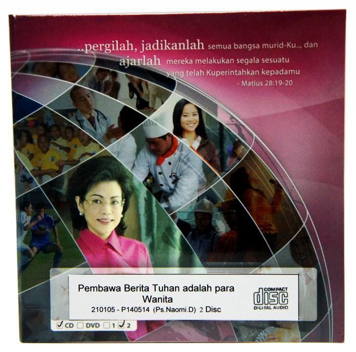 [Audio CD] Pembawa Berita Tuhan adalah Wanita  #IndriGautama #Kekristenan #Wanita