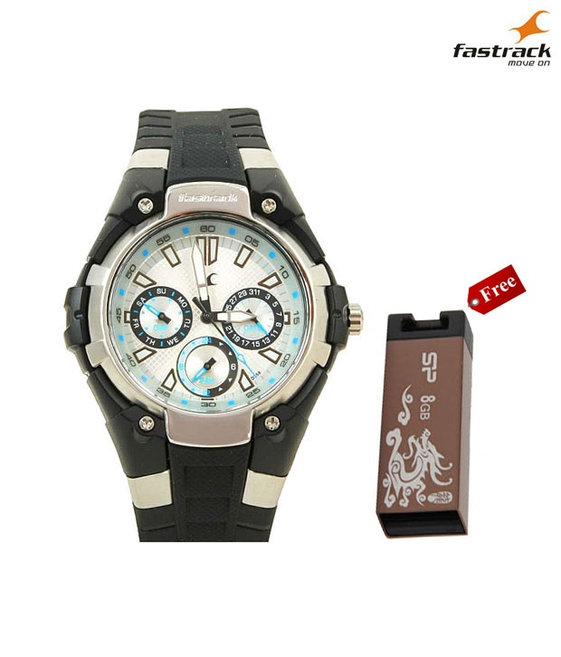 Fastrack Ultra Sporty White Watch Buy 1 get 1 Pen Drive Free, http://www.snapdeal.com/product/fastrack-ultra-sporty-white-watch/457220?pos=5;95