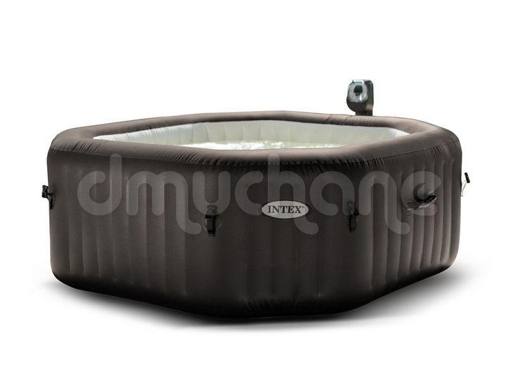 Dmuchane SPA Jacuzzi z masażem i podgrzewaczem wody 201 x 71 cm INTEX 28454