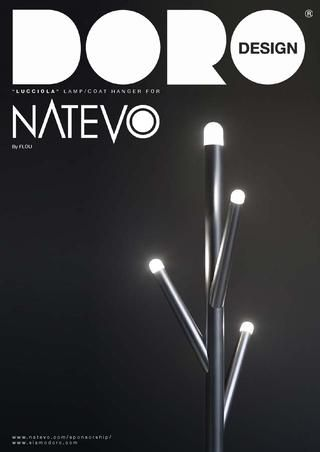 'Lucciola' For NATEVO (by Flou)  DORODESIGN has exploited its creativity to interpret its idea of furniture with integrated light fittings, transforming the imagination into a clothes-stand, umbrella stand and luminous storage container. Select 'Lucciola' and you will make an important contribution to its large scale http://www.natevo.com/sponsorship/product.php?lucciola  Made In Italy