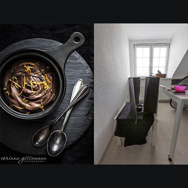 """195 Likes, 8 Comments - Corinna Gissemann (@corinnagissemann) on Instagram: """"Pudding geht immer, oder? :) Durch den tiefen Standpunkt des Tisches, bekommt der Pudding auf…"""""""