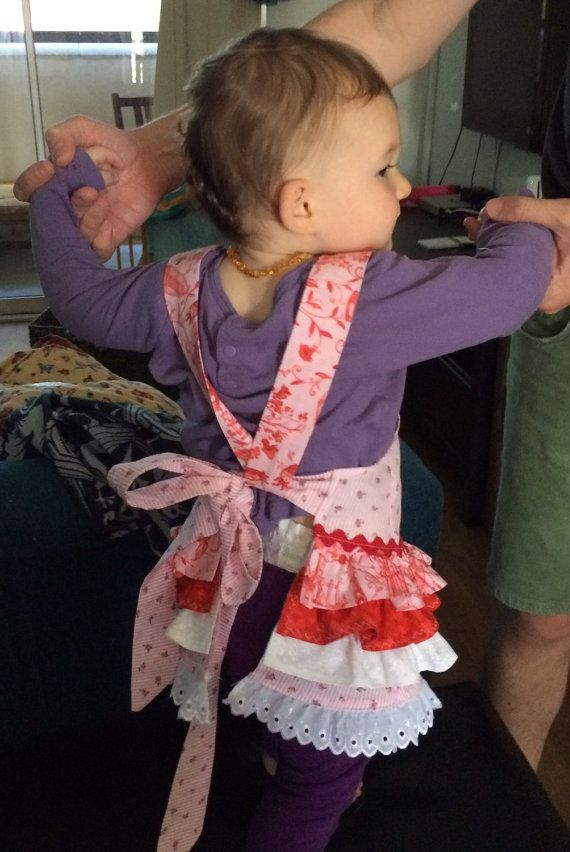 Childrens Aprons made to order by ReenieAndBella on Etsy