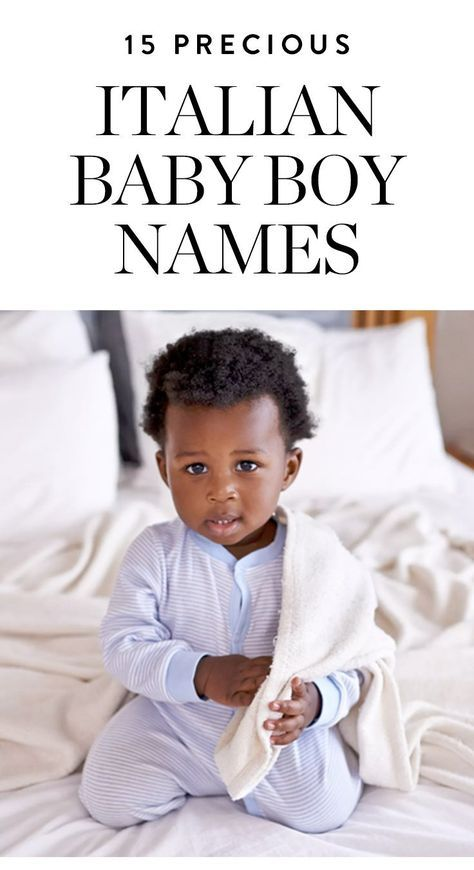 Italian Boy Name: 15 Italian Boy Names For Your Precious Bambino