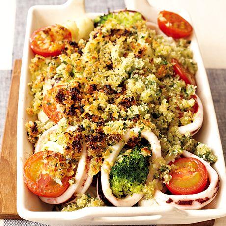 いかのパン粉焼き | ワタナベマキさんの料理レシピ | プロの簡単料理レシピはレタスクラブニュース