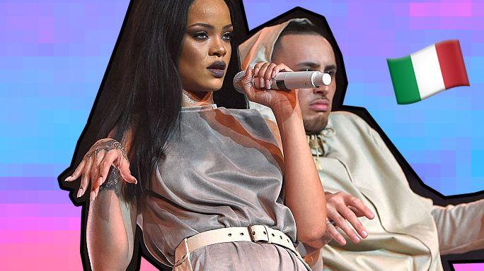 Da Marco Mengoni a Tiziano Ferro: le star al concerto di Rihanna a Milano [ 14.07.2016 ]