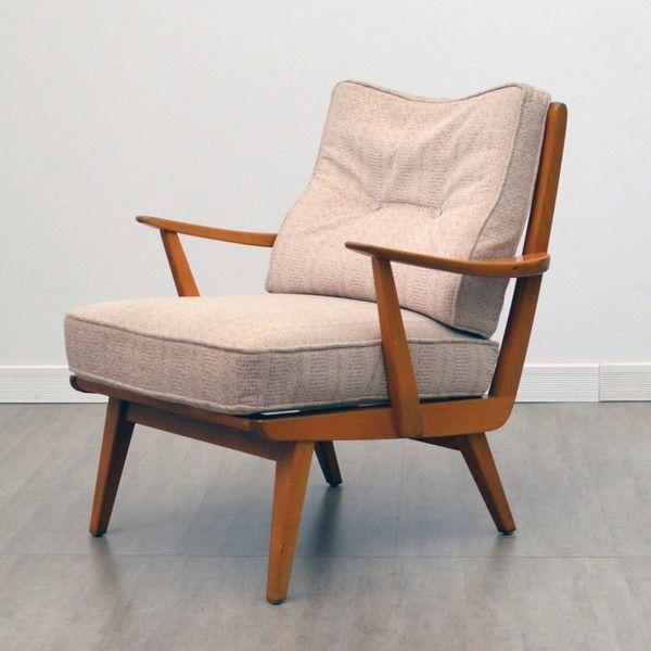 fauteuil scandinave années 50 – 60