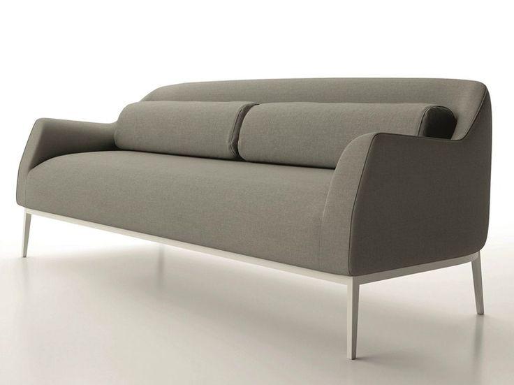 Sofá 3 lugares de tecido LUNA by Dall'Agnese   design Imago Design, Massimo Rosa