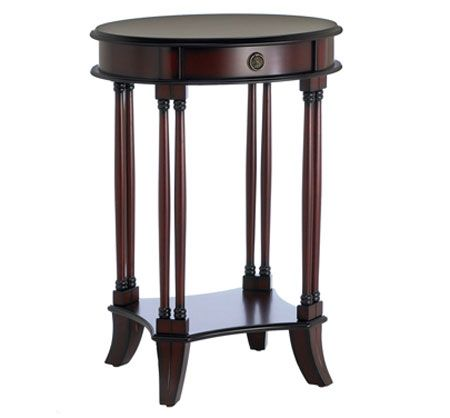 Bombay & Co, Inc.::TABLES::Accent Tables::Ascott Side Table - Vintage Mahogany