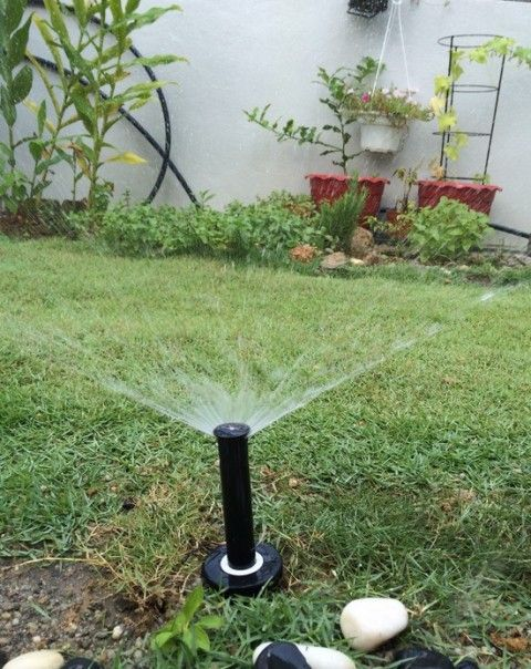 A DIY Sprinkler System Can Help You Have A Beautiful Lawn And Garden  Without All The Work Of Hand Wa