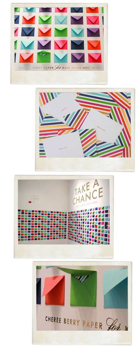 Installation by Cheree Berry Paper for Kate Spade New York