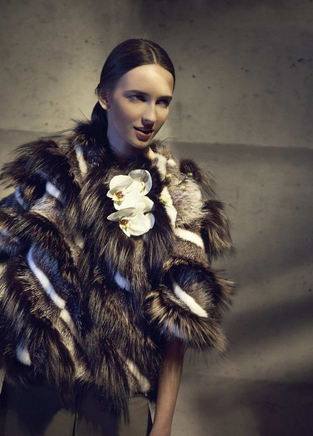 A Fendi Fall/Winter 2014-15 coat