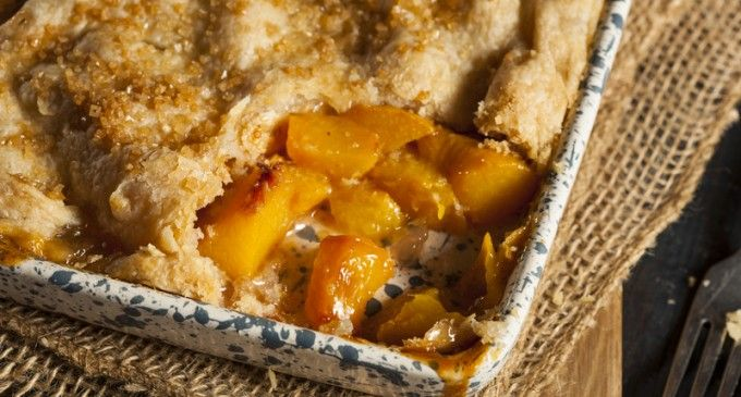 This Peach Cobbler Crust Is AMAZING! I'm Going To Start Using This For All My Cobblers!
