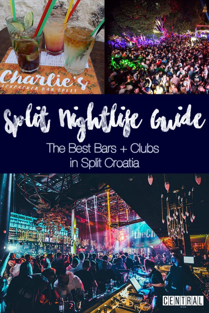 Split Nightlife Guide The Best Bars And Nightclubs In Split Croatia Europe Travel Guide Europe Travel Tips Europe Travel