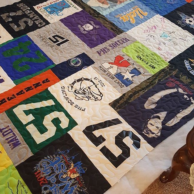 Omg Awesome T Shirts Quilts Custom Made Quilts Keepsake