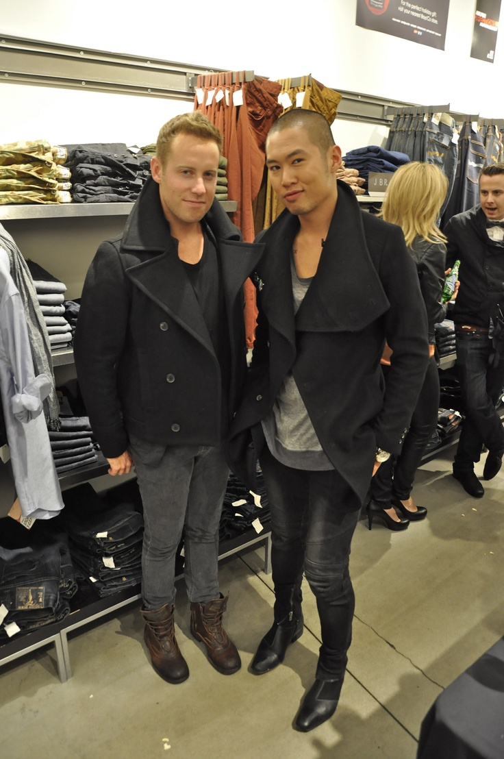 Party at Boys'co - The Style Butcher!  Pea Coat Love