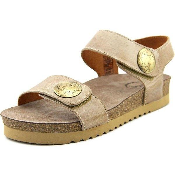 Taos Taos Luckie Open-Toe Leather Slingback Sandal (4.720 RUB) ❤ liked on