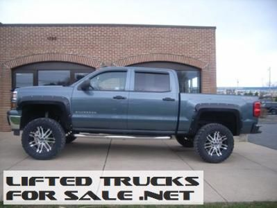 Used 2014 Chevy Silverado 1500 LT 4WD Lifted Truck