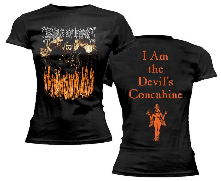 cradle of filth band shirts ladies t shirts the devils i am forward. Black Bedroom Furniture Sets. Home Design Ideas