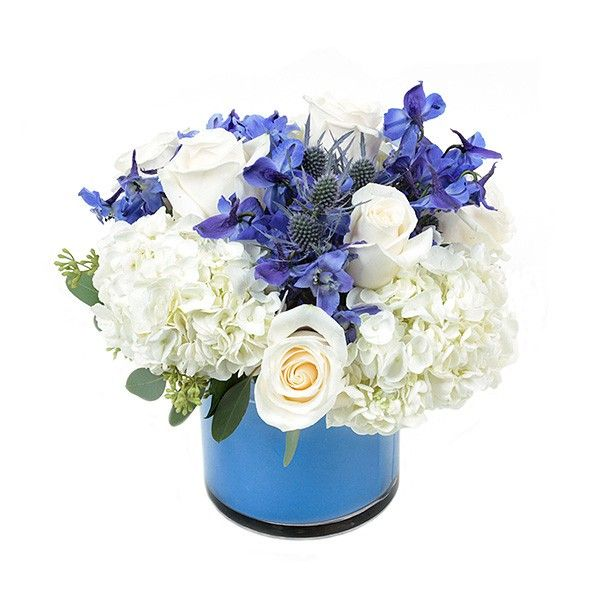Send The Cerulean Bouquet Of Flowers From Plantshed New York In