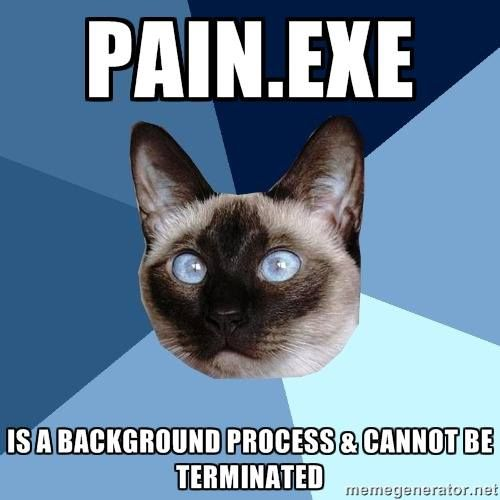 Chronic Illness. Chronic pain