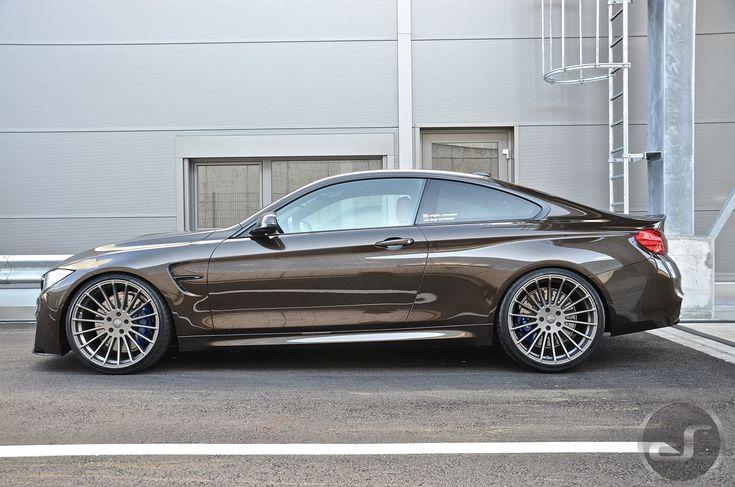 BMW M4 in Pyritbraun Metallic: M Performance trifft Individual