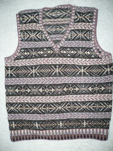 65 best fairisle vests images on Pinterest   Knitting, Stricken ...
