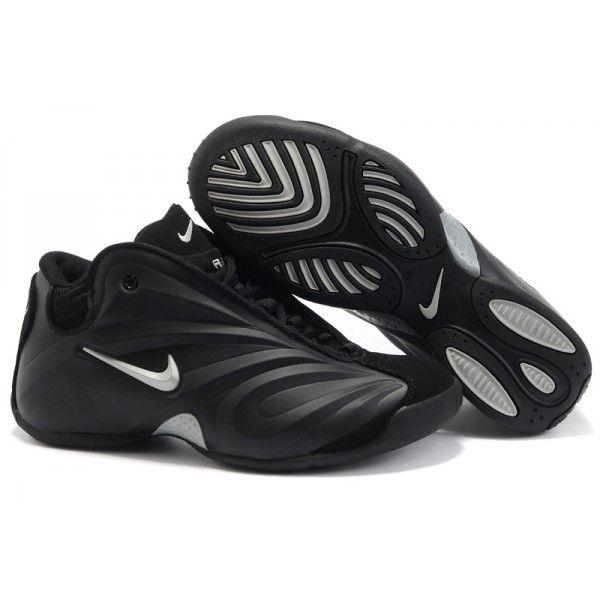 www.formaplac.com/nike-air-flightposite-1-black-. All BlackBlack MenBlack  SilverNice Shoes ...