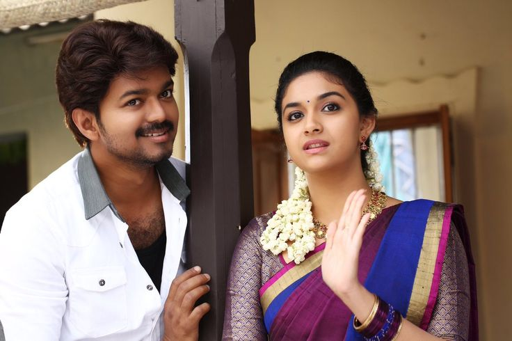 Latest stills from #Bairavaa #Ilayathalapathy #Vijay #KeerthySuresh