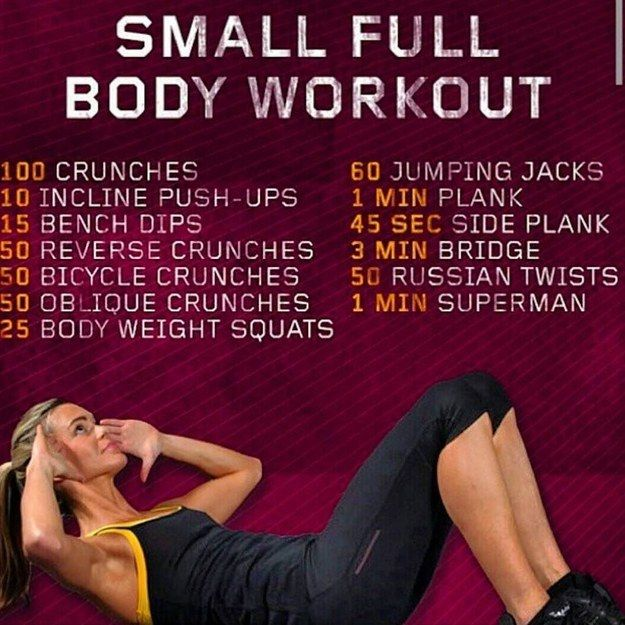 For when you have zero space: | 18 Quick Workouts That'll Help You Exercise Pretty Much Anywhere