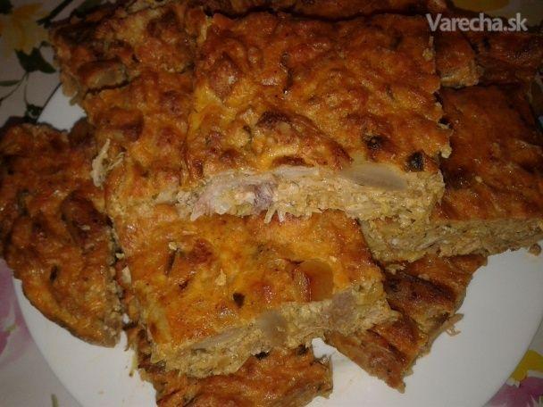 Pečená plnka s kapustou - Recept