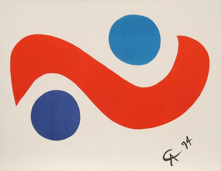 Alexander Calder Paintings | Alexander Calder Artwork Details