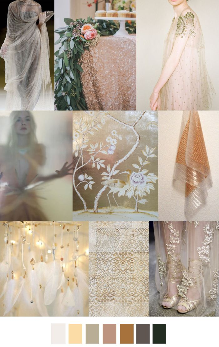 SS 2017: PRINT/GRAPHIC/COLOR INSPIRATIONS - ETHEREAL SHINE - FASHION VIGNETTE: S/S 2017