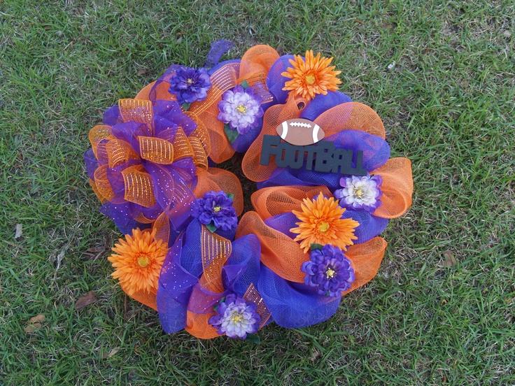 Clemson wreath available for $50. helenswreaths@yahoo.com