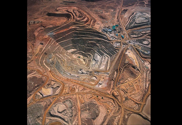 ✿⊱╮Chuquicamata Copper mine ,Chile.