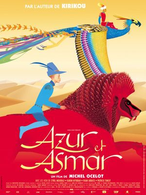 Azur et Asmar / The Princes' Quest - 2006 - Michel Ocelot - animation
