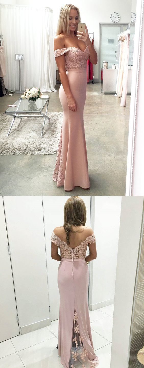 Prom Dresses,Charming Prom Dress,Off Shoulder Backless Mermaid Party Dress,Long Evening Dress,Sexy Lace Prom Dresses,Formal Dress