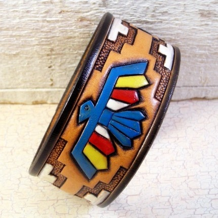 Native American bracelet cuff - to be made.