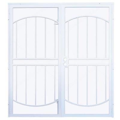 47 best steel security doors images on pinterest steel for Home depot double security doors