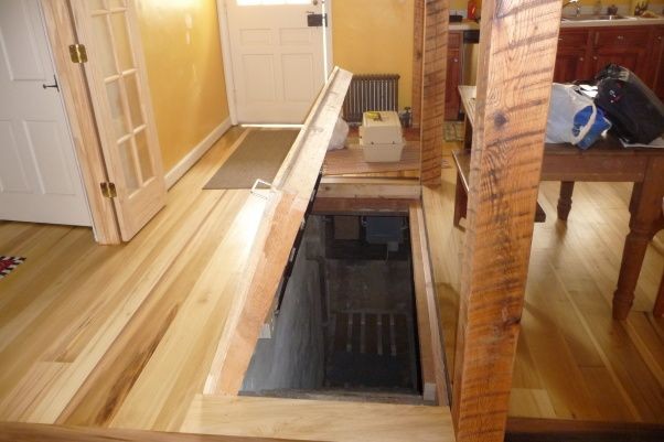 Trapdoor To Basement Build A Trapdoor Into Your Basement