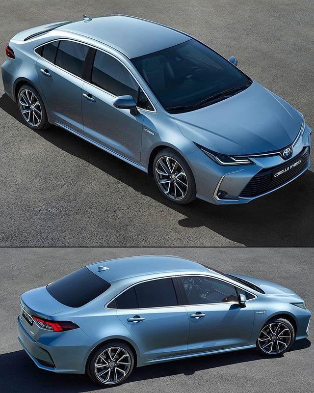 Toyota Corolla 2020 Versao Europeia No Post Anterior Nos Mostramos A Versao Americana Do Sedan Japones Nestas Fotos Temos A Confi Toyota Corolla Toyota Car