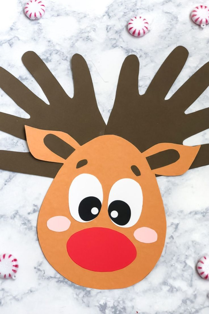 A Handprint Reindeer Craft Kids Of All Ages Will Love Crafts