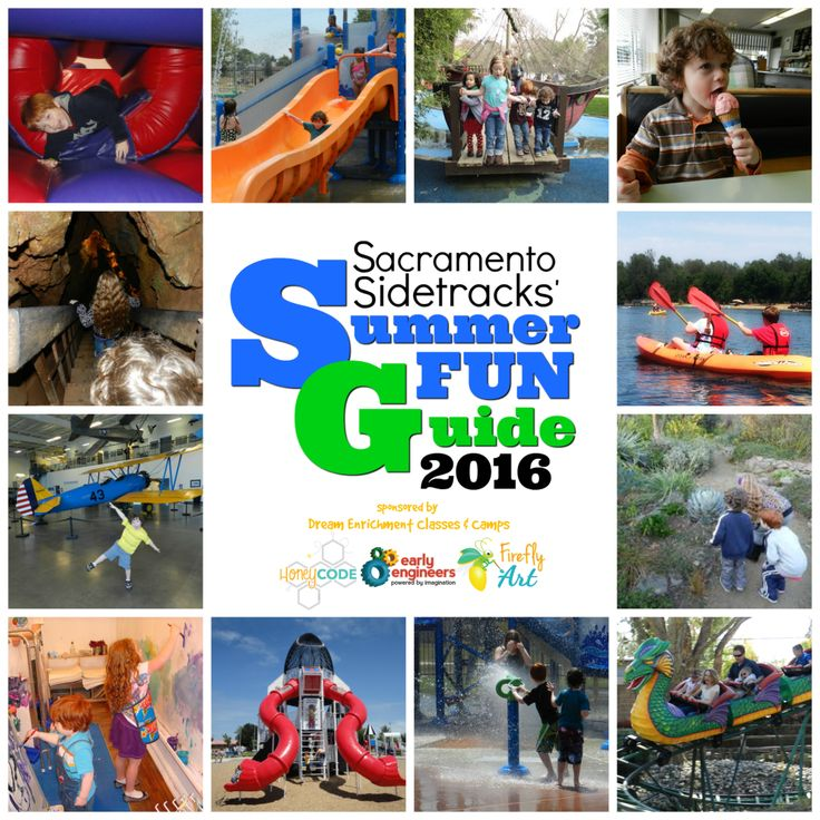 Sacramento Sidetracks' Summer Fun Guide 2016