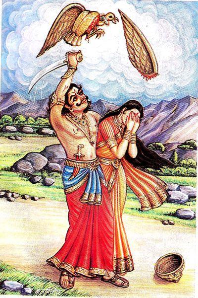 Jatayu Killed By Ravana Bhagavatam Pinterest Search