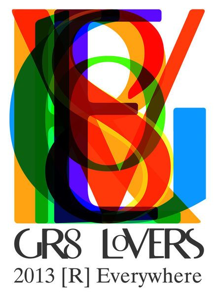 'GR8 LoVERS 2013 [R] Everywhere' by Petros Vasiadis on artflakes.com as poster or art print $14.87