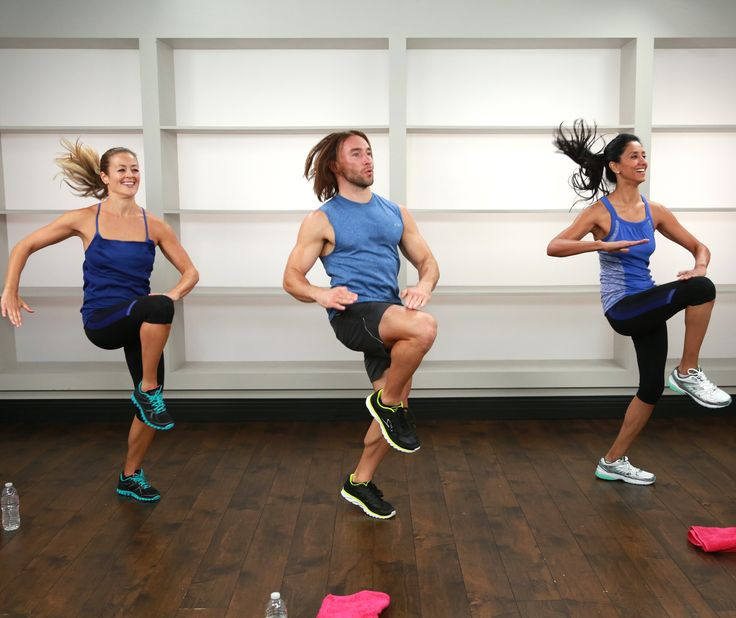 You can do this 30-minute workout anyway and it's a calorie-crushing full-body burn!