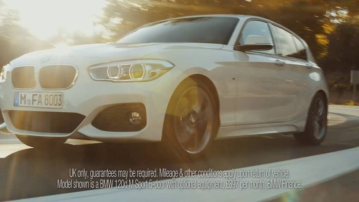 30 Sept 2016: BMW Park Lane 118i M Sport - a re-worked version of the Pure BMW 1 series TV ad which ran last year, but with an extra emphasis to visit BMW Park Lane.