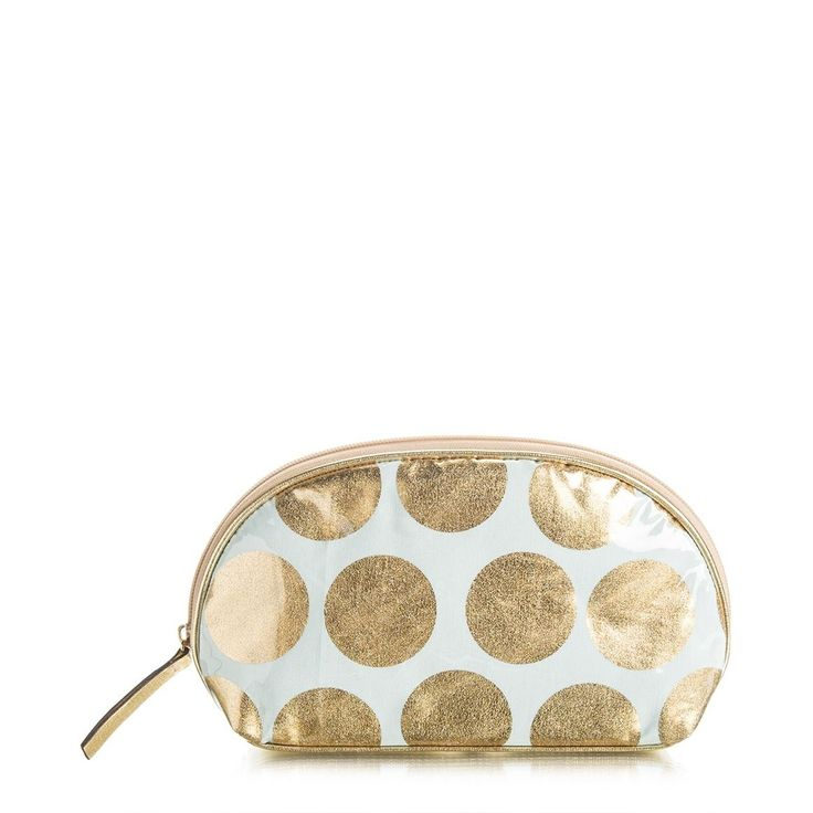 Gold Spot Cosmetic Bag
