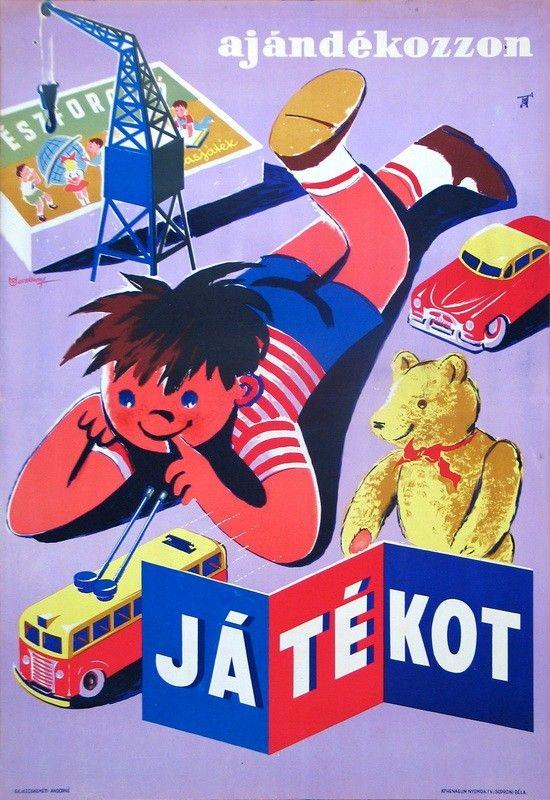 Macskássy [Gyula] (graf.) - ajándékozzon játékot - Múzeum Antikvárium