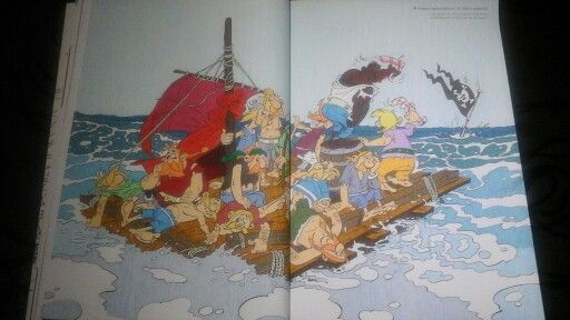 Pages 32 et 33 #asterix